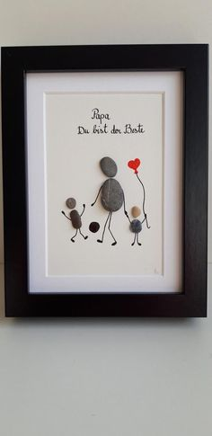 Father's Day Gift, Dad, Stone Picture - Sieh dir dieses Produkt an in meinem Et. - Father's Day Gift, Dad, Stone Picture – Sieh dir dieses Produkt an in meinem Etsy-Shop www. Diy Christmas Gifts For Boyfriend, Diy Gifts For Girlfriend, Diy Gifts For Dad, Diy Gifts For Friends, Fathers Day Gifts, Christmas Diy, Fathers Day Pictures, Stone Pictures, Father's Day Diy