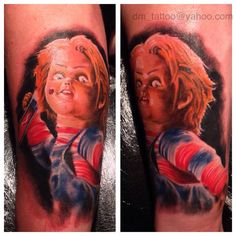 Chucky #tattoo