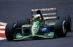 Michael Schumacher Jordan - Ford 1991