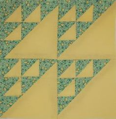 """Moore About Nancy: Birds in the Air 6"""" quilt block pattern by Nancy Cabot"""