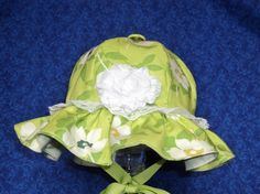 Baby Sunhat Apple Green for Toddlers by AdorableandCute on Etsy, $20.00