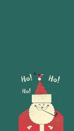 [クリスマス]サンタクロース iPhone壁紙 Wallpaper Backgrounds iPhone6/6S and Plus Christmas iPhone Wallpaper