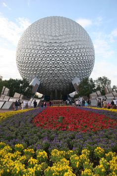 Spaceship Earth at Epcot Center fantastic time  to do in Florida