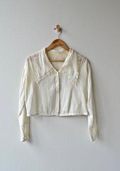 32a1c18e1d3c9a Nithsdale blouse antique Edwardian blouse cotton 1910s
