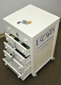 Portable Escape Room Cart