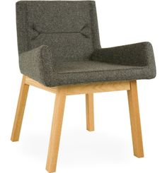 sustainable and angular.but not that nice. Sustainable Furniture, Take A Seat, Interior Inspiration, Accent Chairs, Fancy, Living Room, Showroom, Lighting, Nice