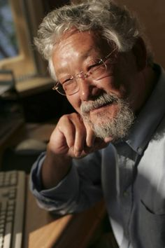 David Suzuki, is an award-winning scientist, environmentalist and broadcaster. He is renowned for his radio and television programs that explain the complexities of the natural sciences in a compelling, easily understood way. David Suzuki, United Nations Environment Programme, O Canada, People Of Interest, Portraits, Environmentalist, Television Program, Environmental Issues, Science And Nature