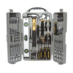 All the tools you need! Performance Tool WLMW1802 157 Piece Homeowners Tool Set