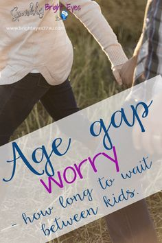Age gap worry- how l