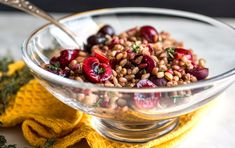 Farro and Cherry Salad - favorite from last year