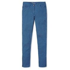 Boden Zip Ankle Skimmer Jeans ($47) ❤ liked on Polyvore featuring blue