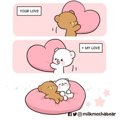 Cute Love Images, Cute Love Gif, Cute Love Couple, Cute Couple Cartoon, Cute Love Cartoons, Happy Face Symbol, Cute Bear Drawings, Chibi Cat, Handmade Baby Clothes