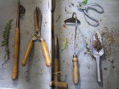The Drill Hall Emporium: Antique English garden tools for the Tasmanian gardens