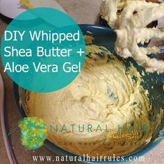 Whipped-Shea-Butter-Aloe Vera Gel - 5K