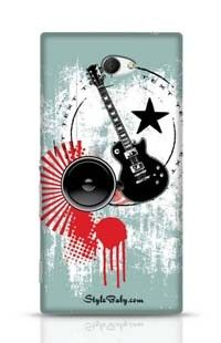 Music Sony Xperia M2 Phone Case
