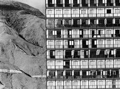 Torre Polar, Plaza Venezuela, Caracas.Arquitectos José Miguel Galia yMartín VegasFotografía Paolo Gasparini,1951
