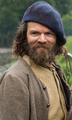 Stephen Walters as Angus Mhor in Outlander on Starz - great close-up, one half of the greatest comedy duo ever seen in an historical drama!