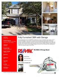 The Ridge 3 BR with Garage $196,500 Fully Furnished