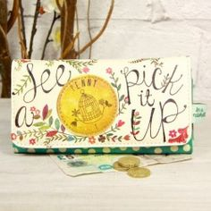 Buy Disaster Designs In a Nutshell Wallet from lisaangel.co.uk :: Lisa Angel Jewellery and Gifts