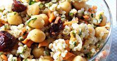 Witajcie   Dziś przepis na FAN-TA-STY-CZNĄ marokańską sałatkę, której smaki na pierwszy rzut oka do siebie nie pasują a jednak są id... Pasta Salad, Potato Salad, Potatoes, Ethnic Recipes, Food, Crab Pasta Salad, Potato, Essen, Noodle Salads