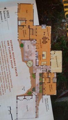 Floor plan mountain house