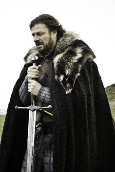Sean Bean in Game of Thrones.