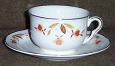 jewel tea cup & saucer