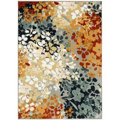 Found it at Wayfair - New Wave Radiance Printed Area Rug