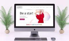 Talent agency website made for Dansingactalentmdl, a talent scout agency. Website Web, Custom Website, Talent Agency, Birmingham, Custom Design, Wordpress, Web Design, Make It Yourself, Projects