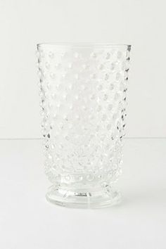 hobnail tumbler $10.  there's something so cozy about the idea of a bunch of vintage glasses.