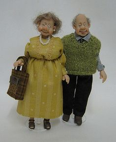 12th scale Character/Doll ~ Smart Pair