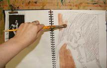Art supplies shopping list for acrylic painting - Photo © Marion Boddy-Evans