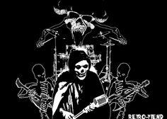 Horror Punk Rockers The Misfits Astro Zombies, Misfits Band, Danzig Misfits, Glenn Danzig, Band Posters, Samhain, Music Love, Custom Art, Heavy Metal