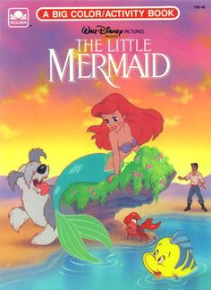 The Little Mermaid Coloring Book   Disney - Coloring & Activity ...