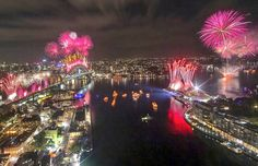 Sydney's fireworks display pays tribute to David Bowie, Prince and Gene Wilder