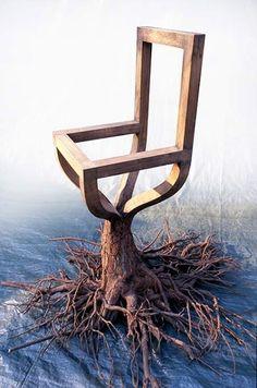 Tree Chair Furniture by Pawel Grunert