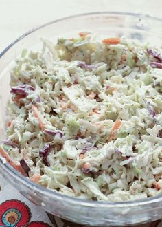 Classic Memphis-Style Southern Coleslaw recipe by Barefeet In The Kitchen