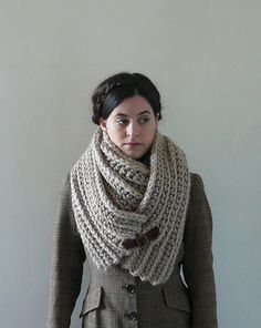 Infinity Cowl Cowl Scarf Cowl  The Seamans Knot in by MadebyChloee, £50.00