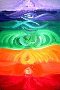 What a beautiful representation of the Chakras