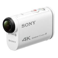 Sony Action Cam FDR-X1000 - Videocámara deportiva (video 4K, resistente a salpicaduras con WI-FI, NFC, GPS)
