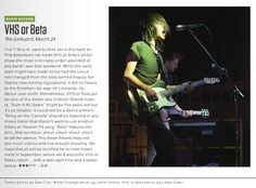 My VHS or Beta image from Neon Reverb Festival as seen in this week's Vegas Seven magazine.