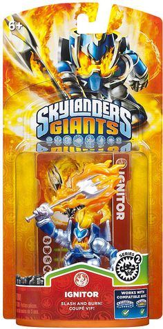 #ToysRus                  #Toys #Action Figures     #skylander #lif #ignitor #powers #portal #skylanders #individual #character #own #giants #unique #life #ultimate #collection #game #pack #power             Skylanders Giants Individual Character Pack - Ignitor 2                       Bring the Skylanders to Life! Bring the Skylanders to life by placing them on the Portal of Power. Build the ultimate collection of Skylanders - over 45 Skylanders to collect! Each Skylander has their own…