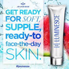 Jeunesse Luminesce Essential Body Renewal Repair Skin New with Sealed 150 ml Best Natural Skin Care, Anti Aging Skin Care, Body Lotion, Helping People, Youth, Cellular Level, Beauty Tips, Beauty Essentials