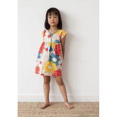 ee5d38429280 Nadadelazos Organic Dress - ALP FLOWERS, organic kids clothes, clothes for  kids, organic
