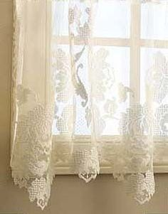 Windsor Lace Curtains by Heritage Lace