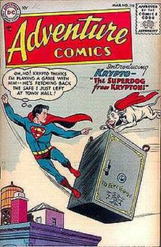 Worst Superhero #3 Krypto the Superdog (1st Appearance: Adventure Comics #210) The only good thing about Krypto was that he was Superman's dog sent to Earth by the great superhero's pops, Jor-El, as a test run for the capsule he'd later use to send his son to the planet. Being used as an experiment for his masters probably didn't make Krypto happy but he was soon cheered up by the arrival of The Legion of the Superpets with Beppo the Supermonkey, Streaky the Supercat and Comet the…