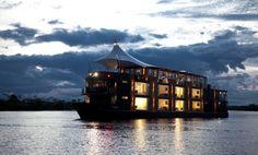 Navio de cruzeiros Aria Amazônia; Aria Amazon Cruises; Rio Amazonas, Peru