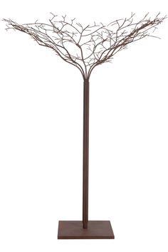 260€  Arbre décoratif en métal brun 180 cm | KOTECAZ  #décoration #déco #décooriginale #entréemaison Deco Originale, Decoration Originale, Fine Art, Home Decor, Dimensions, Composition, Products, Garden, Modern Lamps