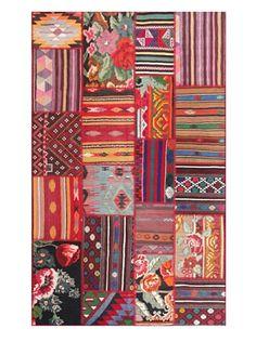 49% OFF nuLOOM Vintage Patchwork Turkish Kilim Rug (Multi)