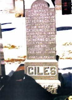 Giles Family Tombstone